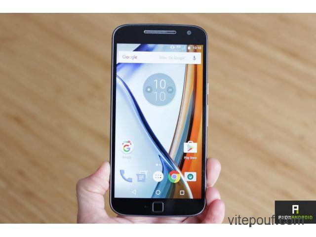 Motorola Moto G4 Plus 280$ ferme