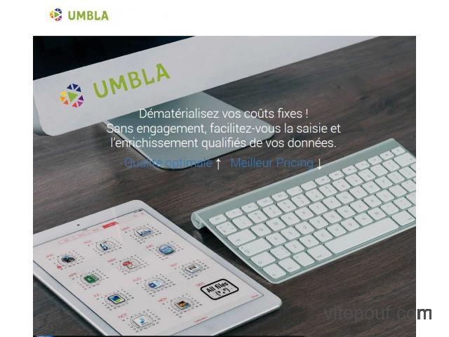 Umbla, un atout en big data