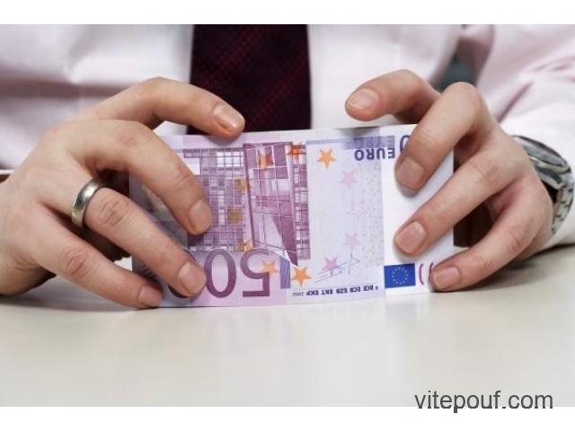 Accord de crédit sérieux et rapide aux particuliers en 72h