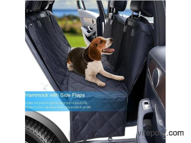Housse protection siege arriere voiture pour  - Cover seat dog