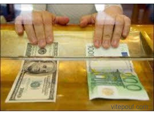 Aide(prêt et financement)100% fiable