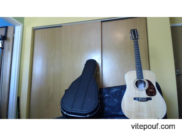 Guitare 12 cordes Boucher