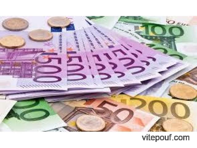 Offre de prêt à faible taux d'intérêt et sans frais à l'avance