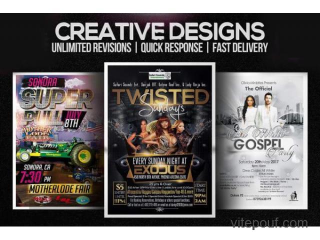 Brochure, dépliant, PDF, menu, etc. Services de conception graphique
