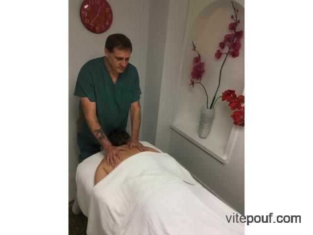 Massothérapie en clinique / domicile - spécial 45$