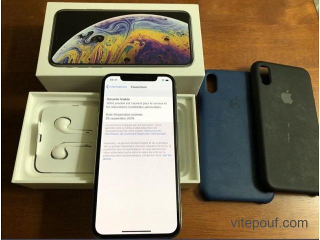 iPhone xs max 128 Go