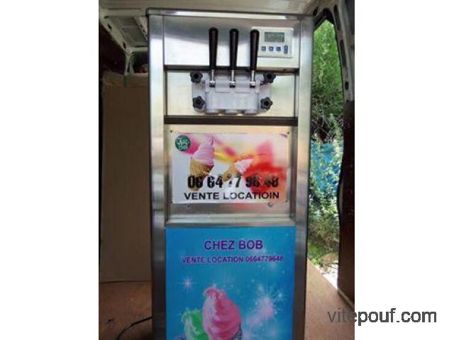 Réfrigérateur machine a glace a l'italienne
