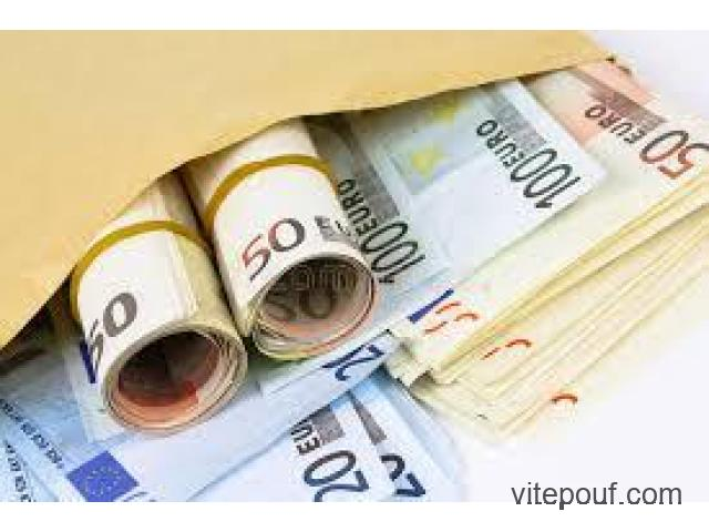 offre de financement à toute personne dans le besoin de prêt