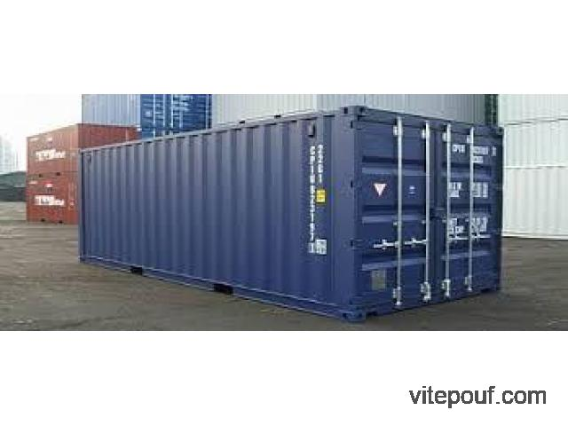 Containers maritime  DRY et High Cube