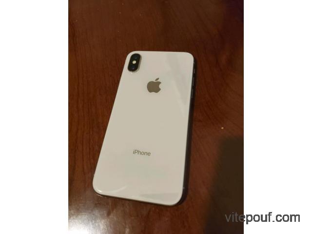 iPhone x 256gb neuf à vendre