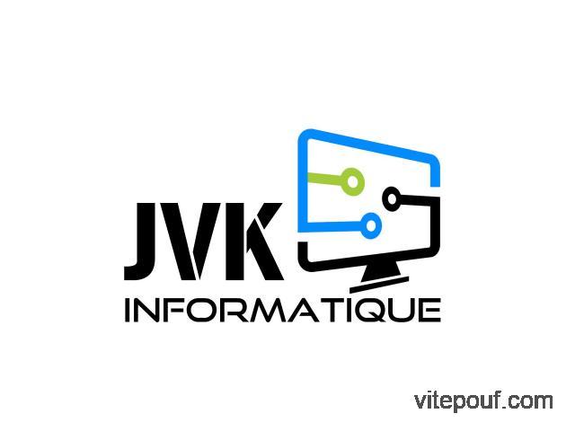 Entretien et vente informatique à prix abordable! JVK