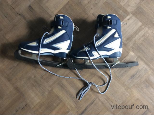 À vendre patins à glace taille 8, lame 10, très peu servi (4@5 fois)