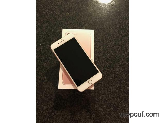 IPhone 7 Plus rose gold 64 128gb etat neuf