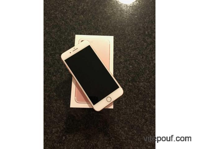 IPhone 7 Plus rose gold 64 128gb etat neuf