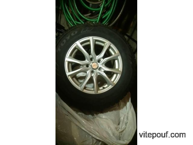 4 pneus d'hiver 16'' + Mags 5x108