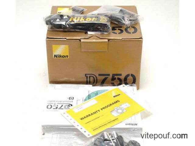 Nikon D750 Camera w/24-120mm Lens
