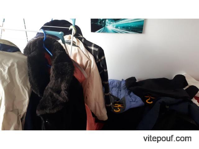 14 manteaux automne et hiver pour 50$