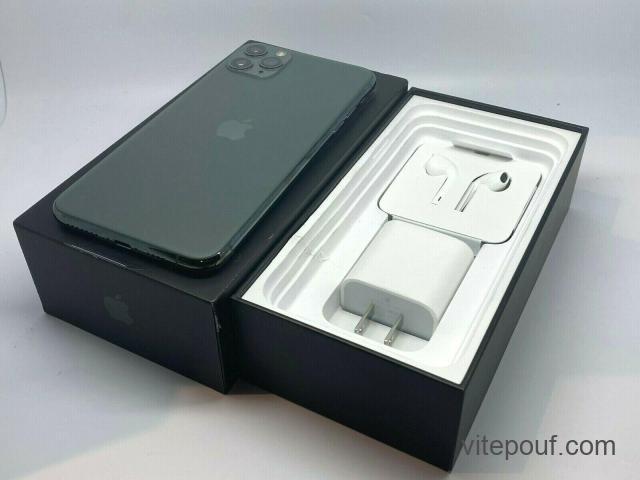 Nouveau Apple iPhone 11 Pro Max 256 Go débloqué