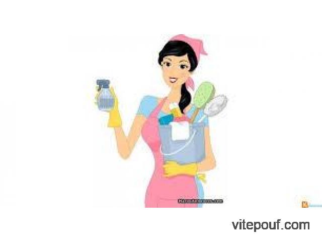 Femme de ménage à domicile Ville de Québec!