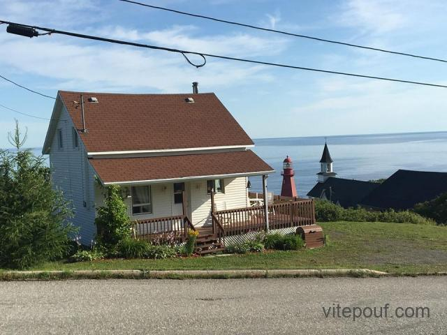 Maison de campagne à vendre à La Martre en Haute Gaspésie