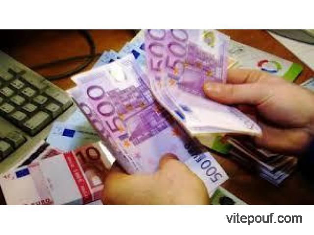Offre de prêt d'argent sans Frais en avance