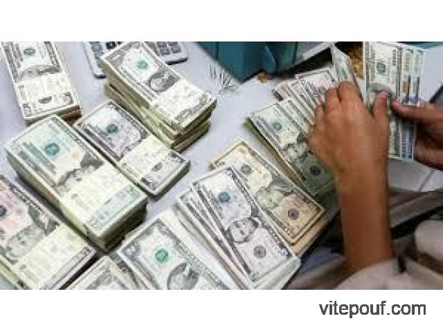 Offre de prêt rapide et honnête - Taux d'intérêt 1.90%