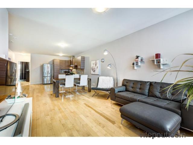 Condo / Appartement à louer 2055, Rue Notre-Dame, app. 202, Montréal (Lachine), Quartier Est