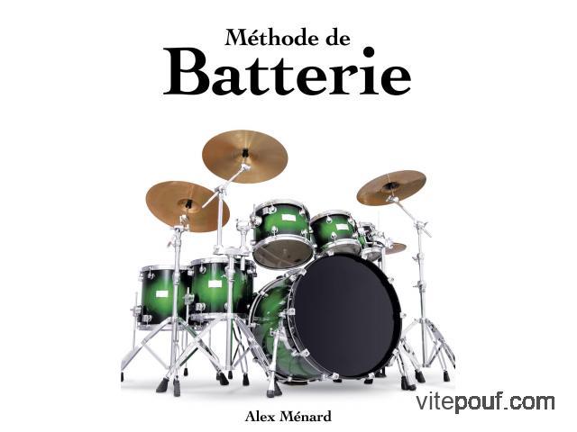 Méthode de Batterie Alex Ménard (1 et 2)