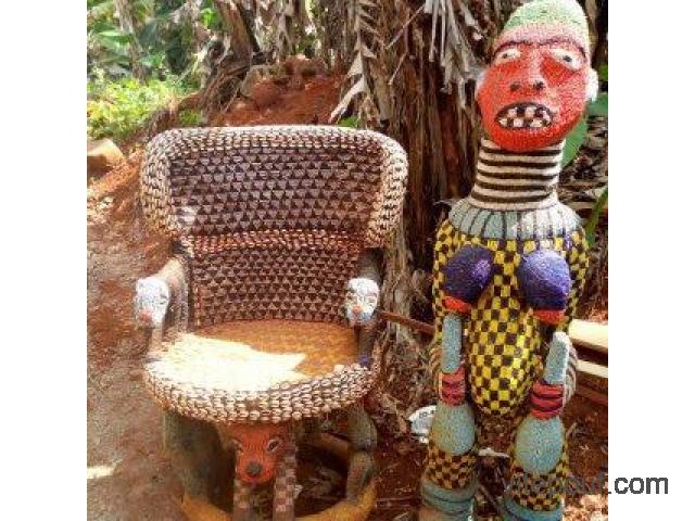 Objets d'art africain opportunité d'affaire