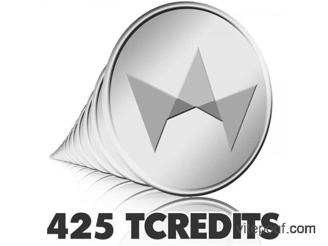 TCredits 425 pack