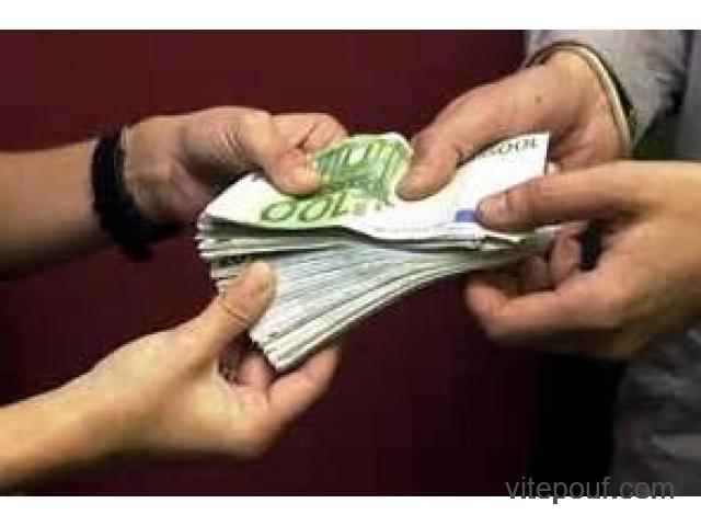 Offre de prêt. 100% en ligne avec ou sans garantie.