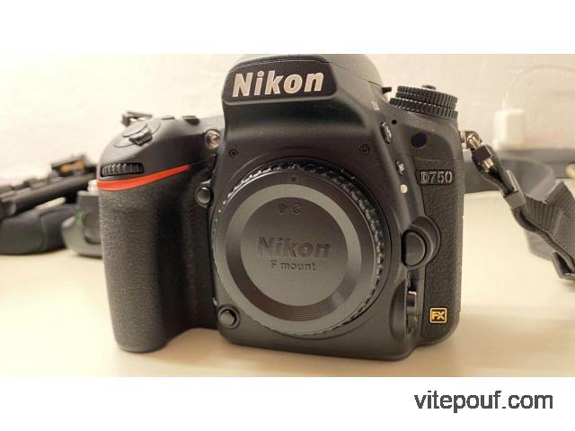 Nikon D750 en parfait état