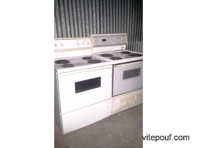 Cuisinière, Four / Stove, Oven - (2x) Frigidaire + Hotpoint