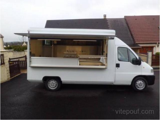 je cede mon camion magasin snack food truck