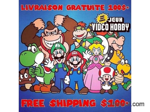 Nintendo Nes Snes 64 Gamecube Wii Ds 3ds U Pokemon Mario Zelda