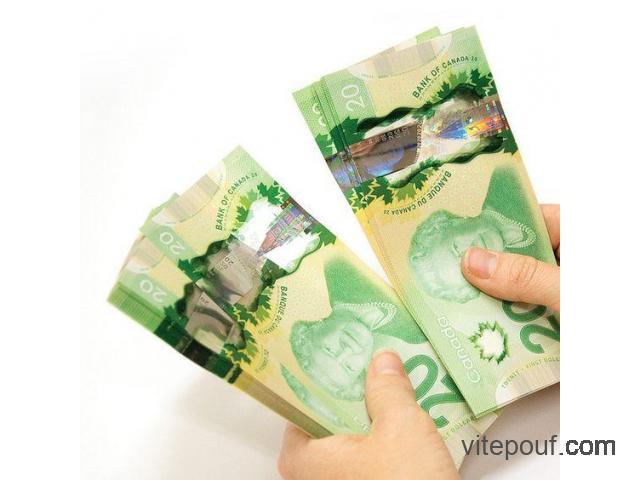 PRÊT PERSONNEL / 2000 $ à 600.000 $ ( Quèbec )