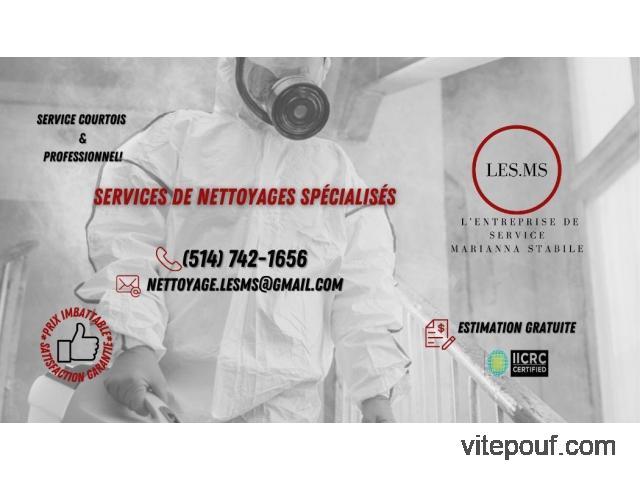 Nettoyages Spécialisés LES.MS
