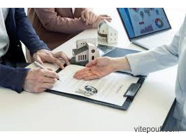 Loan offer You need a loan to finance a project.