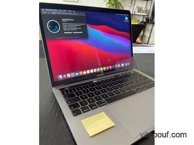 MacBook Pro TouchBar 13 pouces (2019 - Garantit jusque 2023)