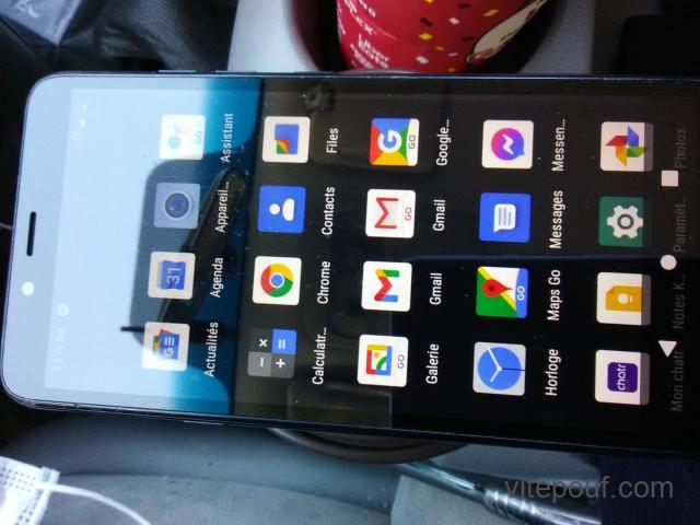 Cellulaire LG K20