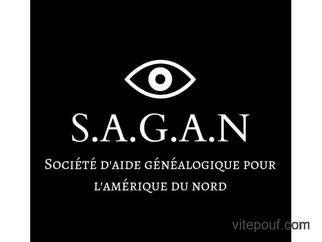 Généalogie - SAGAN (Société d'aide généalogique pour l'Amérique du Nord)