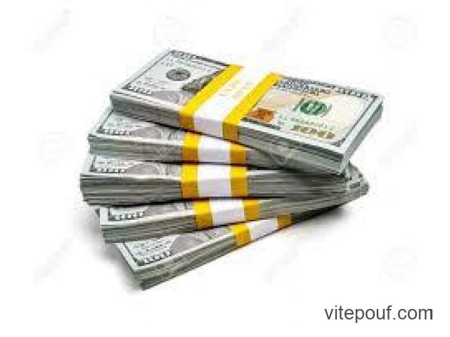 Vous êtes à la recherche d'un prêt d'argent