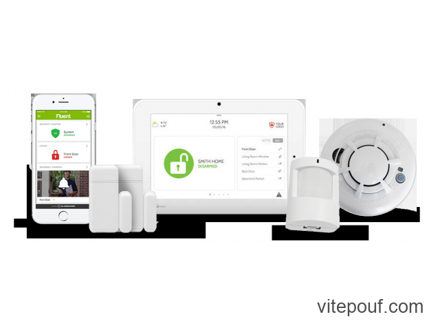 Alarme commerce avec vidéosurveillance