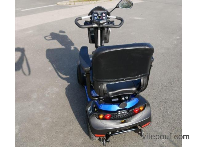Scooter électrique handicapé 4 roues ENVOY 6 BLEU