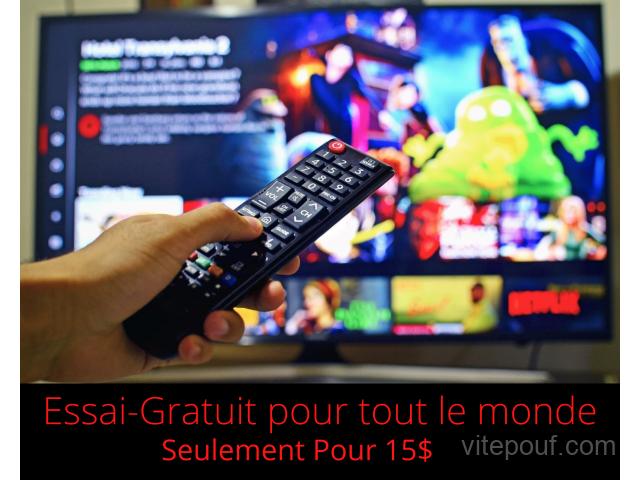 Premium Abonnement IPTV 12 mois TEST GRATUIT