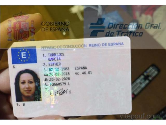 Acheter permis de conduire passeports, diplômes, citoyenneté, permis de séjour