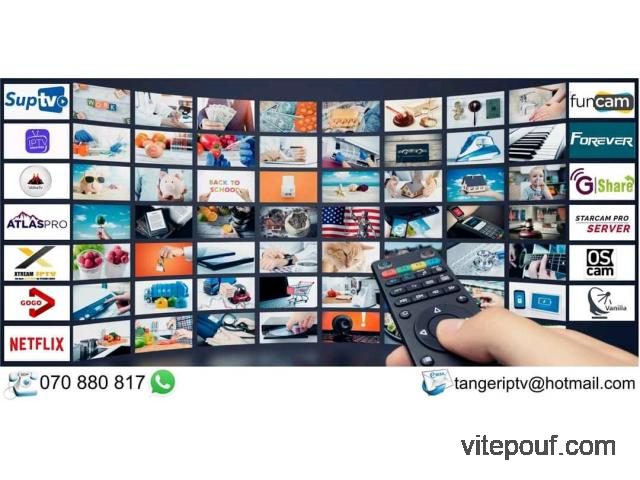 Abonnement IPTV et serveurs satellite