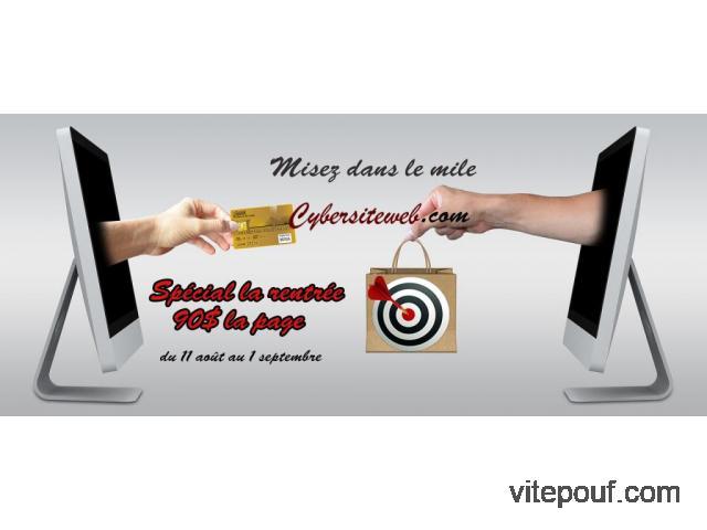 Conception réalisation site web professionnel & abordable