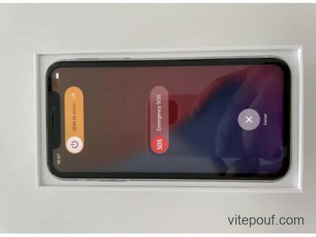 Apple iPhone 11 - 128GB -Blanc