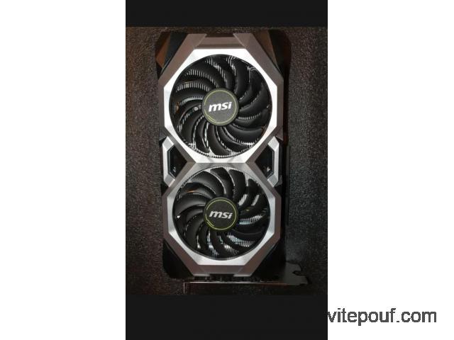 Carte graphique GeForce 2060 rtx ventus gp oc edition